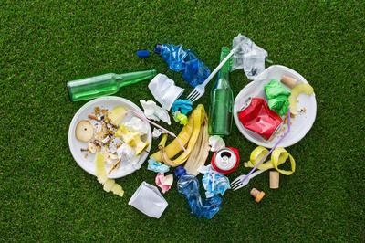 Sortering og genanvendelse af affald på events - hvad virker?
