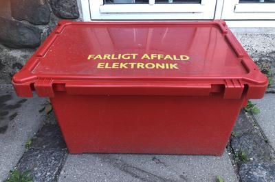Indsamling af farligt affald