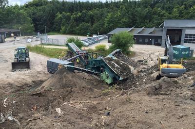 Landfill mining af deponeret blandet affald
